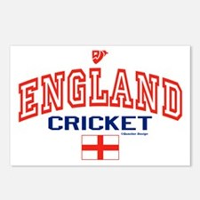 ENG England Cricket Postcards (Package of 8)