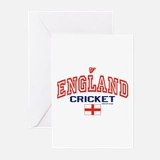 ENG England Cricket Greeting Cards (Pk of 10)