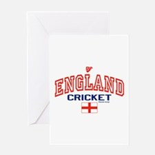 ENG England Cricket Greeting Card