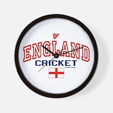 ENG England Cricket Wall Clock