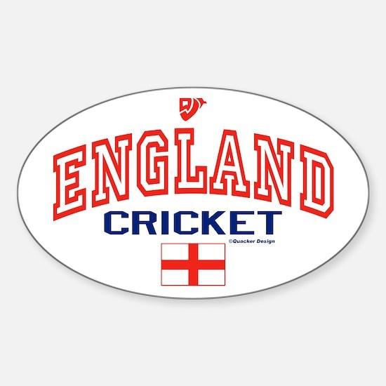 ENG England Cricket Sticker (Oval)