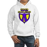 Super Advocate Logo Hooded Sweatshirt