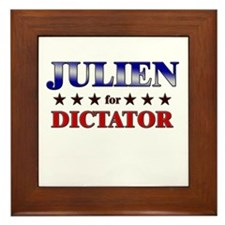 JULIEN for dictator Framed Tile