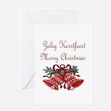 Belgian Christmas Greeting Card