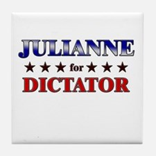 JULIANNE for dictator Tile Coaster