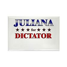 JULIANA for dictator Rectangle Magnet