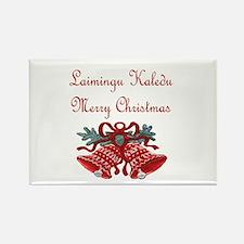 Lithuanian Christmas Rectangle Magnet