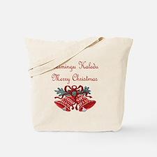 Lithuanian Christmas Tote Bag
