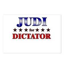 JUDI for dictator Postcards (Package of 8)
