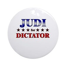 JUDI for dictator Ornament (Round)