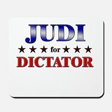 JUDI for dictator Mousepad
