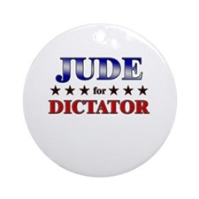 JUDE for dictator Ornament (Round)