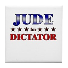 JUDE for dictator Tile Coaster