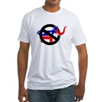 REPUBLICAN-LITE DEMOCRATS Fitted T-Shirt