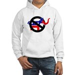 REPUBLICAN-LITE DEMOCRATS Hooded Sweatshirt