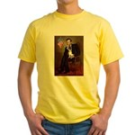 Lincoln / Rat Terreier Yellow T-Shirt