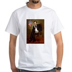 Lincoln / Rat Terreier White T-Shirt