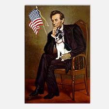 Lincoln / Rat Terreier Postcards (Package of 8)