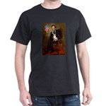 Lincoln / Rat Terreier Dark T-Shirt