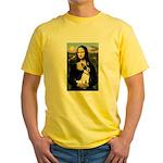 Mona / Rat Terrier Yellow T-Shirt