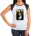 Mona / Rat Terrier Women's Cap Sleeve T-Shirt
