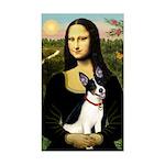 Mona / Rat Terrier Sticker (Rectangle)