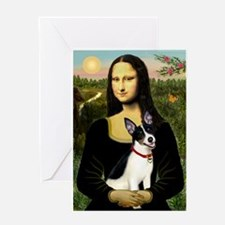 Mona / Rat Terrier Greeting Card