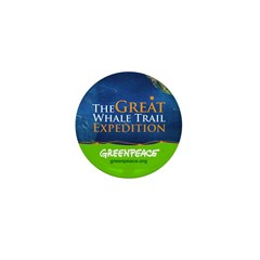 Great Whale Trail Mini Button (10 pack)