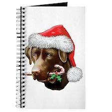 Chocolate Lab Christmas Journal