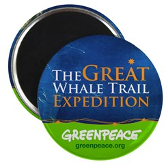 Great Whale Trail Magnet