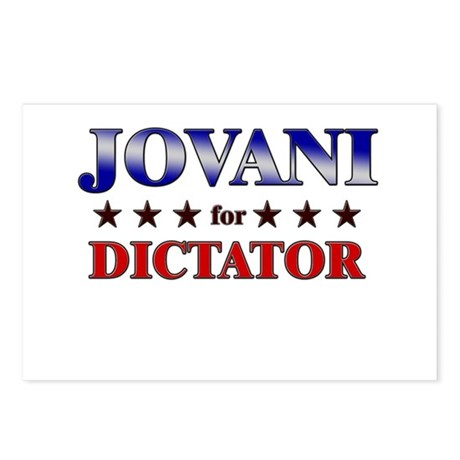 JOVANI for dictator Postcards (Package of 8)