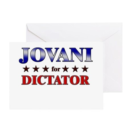JOVANI for dictator Greeting Card