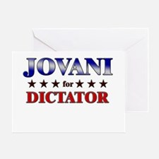 JOVANI for dictator Greeting Card
