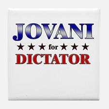 JOVANI for dictator Tile Coaster