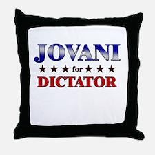 JOVANI for dictator Throw Pillow