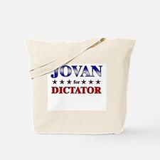JOVAN for dictator Tote Bag