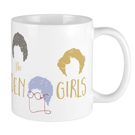 Golden girls minimalist mugs by movieandtvtees for Minimalist gifts for housewarming