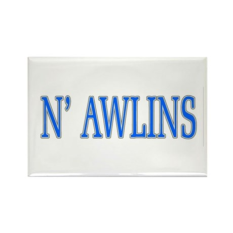 N'Awlins Street Tiles Rectangle Magnet
