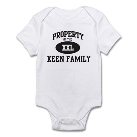 Property of Keen Family Infant Bodysuit