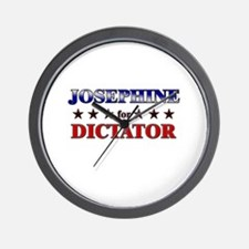 JOSEPHINE for dictator Wall Clock