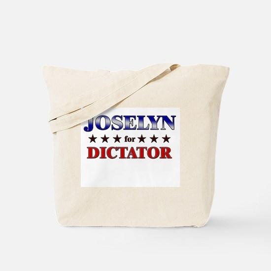 JOSELYN for dictator Tote Bag