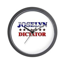 JOSELYN for dictator Wall Clock
