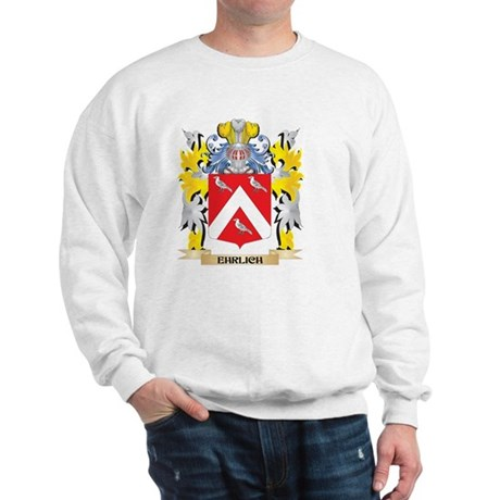 Ehrlich Coat of Arms - Family Crest Sweatshirt