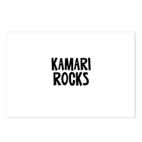 Kamari Rocks Postcards (Package of 8)