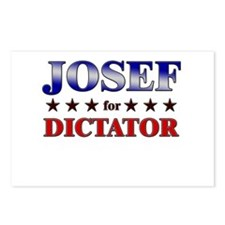 JOSEF for dictator Postcards (Package of 8)
