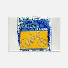 Spring Planting Rectangle Magnet