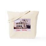 Mandolin and Happy Holidays Tote Bag