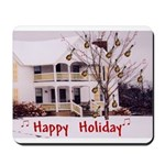 Mandolin and Happy Holidays Mousepad