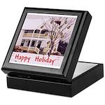 Mandolin and Happy Holidays Keepsake Box
