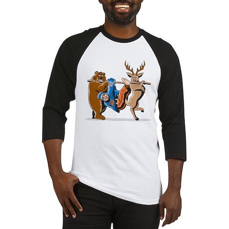 Anti-Hunting Wild Animal Revenge Baseball Jersey